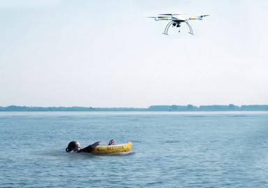 Un drone comme sauveteur?