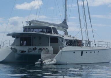 Les catamarans signés Bruce Roberts