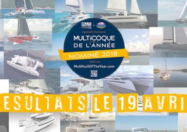 Multicoque de l'année :  Il est encore temps de voter pour désigner votre bateau préféré !
